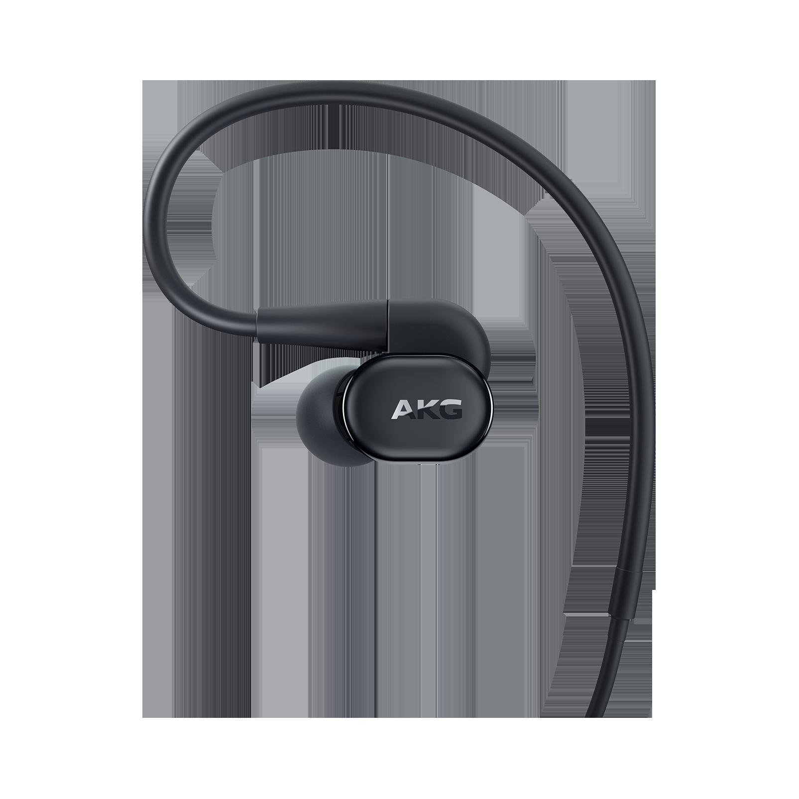AKG N30 - Black - Hi-Res in-ear headphones with customizable sound - Left
